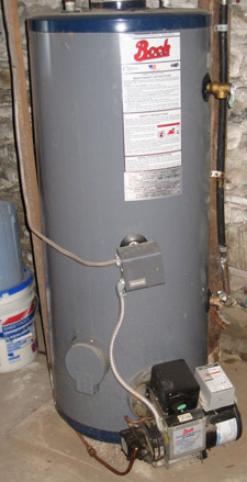 Oil Fired Hot Water Heater - 5 years old